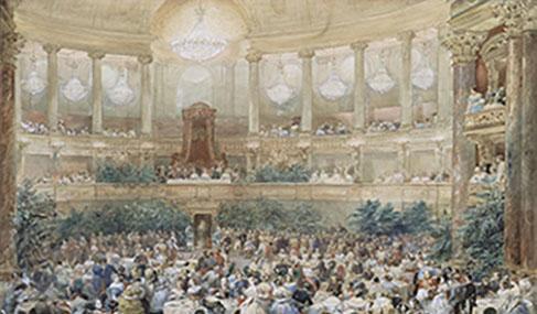 Histoire Getlink - 1855 - Tunnel sous marin - Versailles