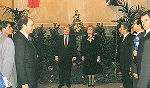 Histoire Getlink - 1986 - Annonce projet eurotunnel