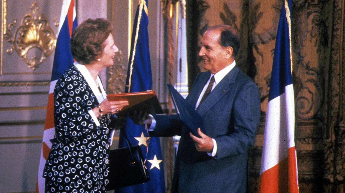 Histoire Getlink - 1987 - Officialisation traité de Cantorbery