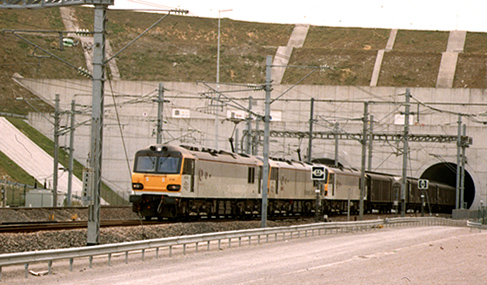 Histoire Getlink - Eurotunnel
