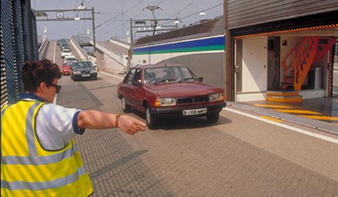 Histoire Getlink - 1994 - Premier Eurostar commercial