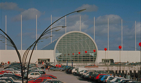 Histoire Getlink - 1995 - Inauguration complexe cité-europe