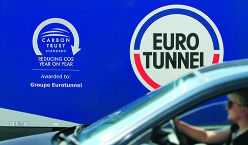 Histoire Getlink - 2009 - Eurotunnel recoit le Carbon Trust Standard