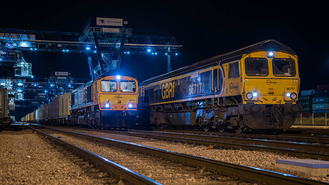 Histoire Getlink - 2009 - Acquisition de GB Railfreight