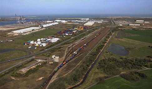 Histoire Getlink - 2009 - Maintenance du réseau ferré du port de dunkerque