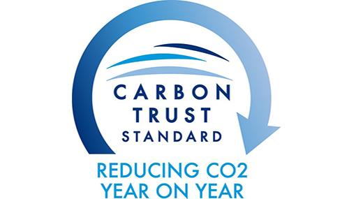 Histoire Getlink - 2011 - Certification The carbon Trust Standard