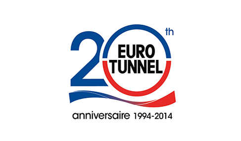 Getlink History - 2014 - Logo 20 ans anniversaire