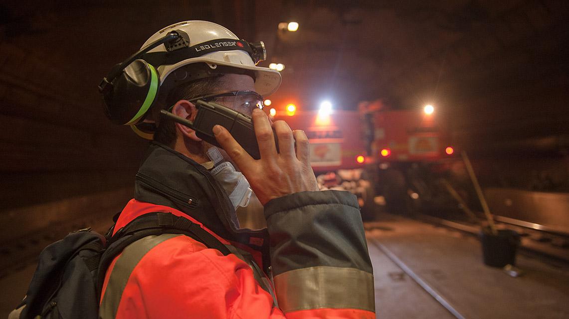 Histoire Getlink - 2015 - Réseau de télécommunications ferroviaires radio sol-train