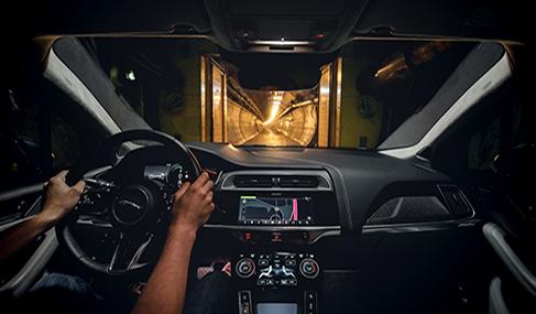 Histoire Getlink - 2018 - SUV I-Pace électrique de Jaguar