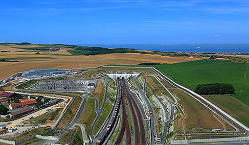 Histoire Getlink - 2018 - 140Md€ de valeur marchande transites chaque année via eurotunnel