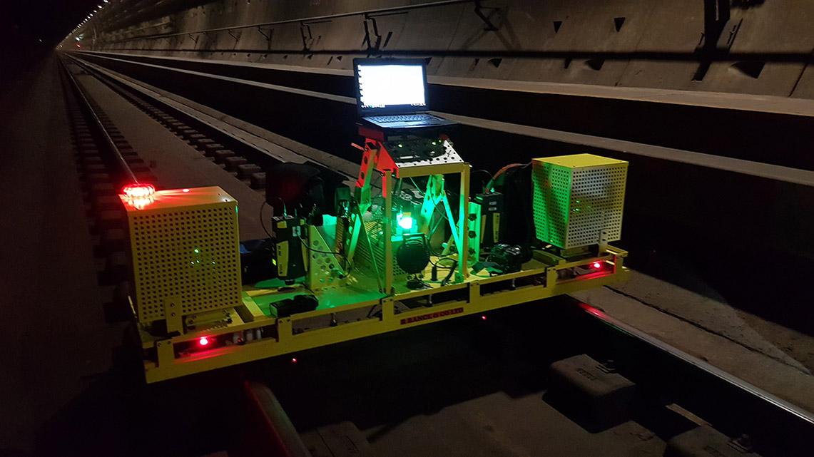 Getlink History - 2018 - Cobra robot fot eurotunnel