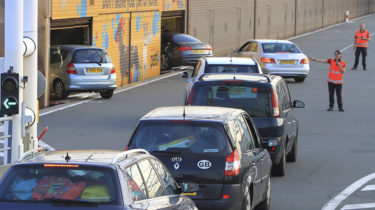 Getlink - Cars on board the Eurotunnel Passenger Shuttles