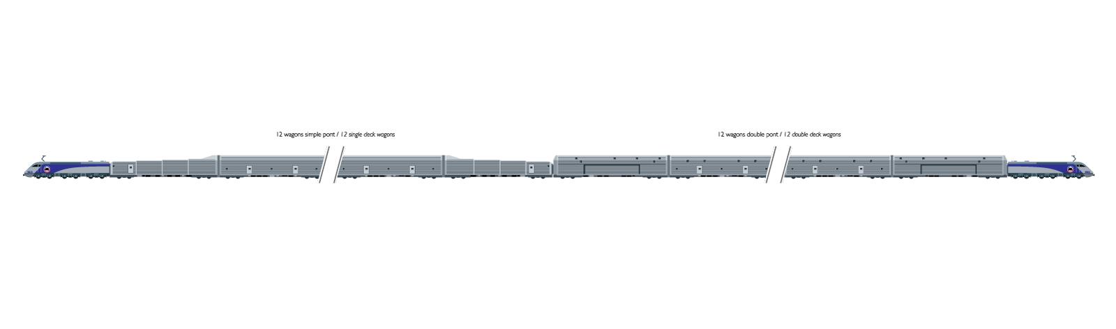 Eurotunnel - The Passenger Shuttles schema