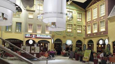 Pole de loisirs et restauration, cité Europe par Getlink