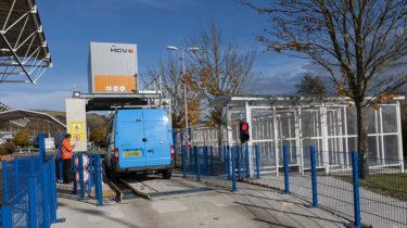 Scanners pour vans commerciaux de fret - sécurité - Getlink