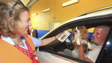 Eurotunnel, controle animaux