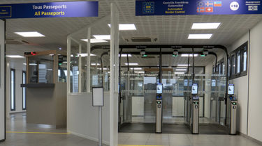 Eurotunnel Activity - automated biometric facial recognition e-gates