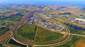 Terminal de Coquelle Eurotunnel
