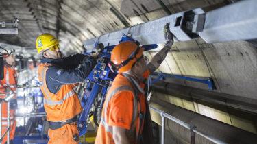 travaux dans le Tunnel sous la manche - Getlink
