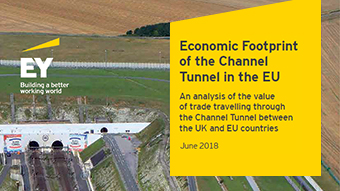 "The report ""Economic footprint of the Channel Tunnel Fixed Link"" from EY"