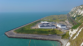 Samphire Hoe Green Flag Award - Getlink